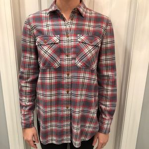 J.Crew Soft Flannel Shirt Women's size 4